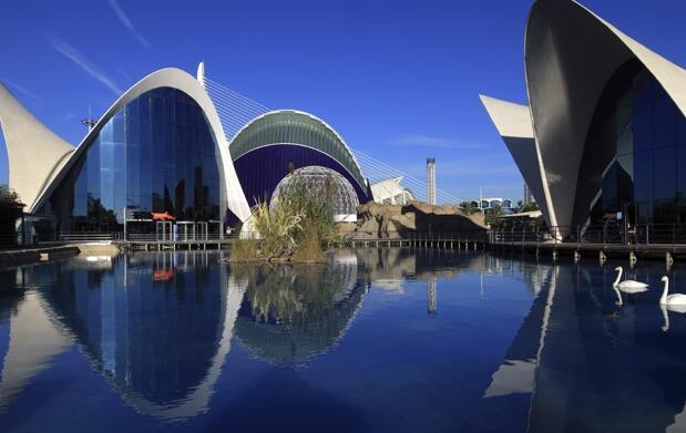 Valencia 4* + Entrada Oceanogràfic por 99€