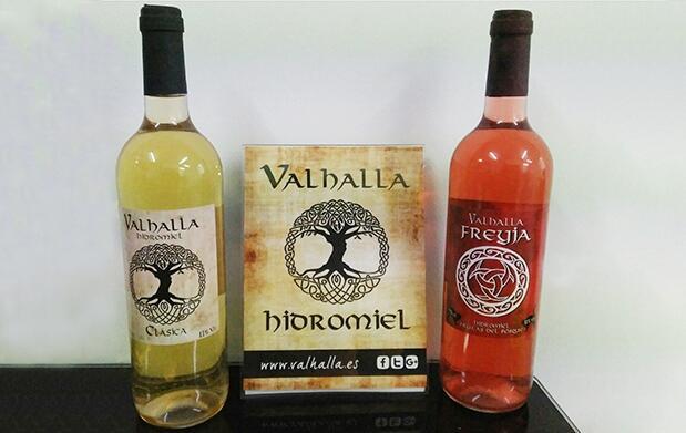 Lote de 2 botellas de hidromiel Valhalla