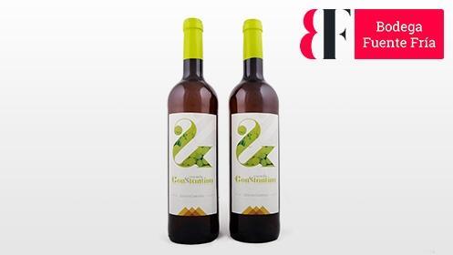 2 botellas de Vino blanco Escudo de Constantina