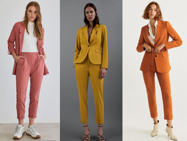 Traje De Pantalon Para Mujer Basico De Tendencia Para Este Otono Bulevar Sur